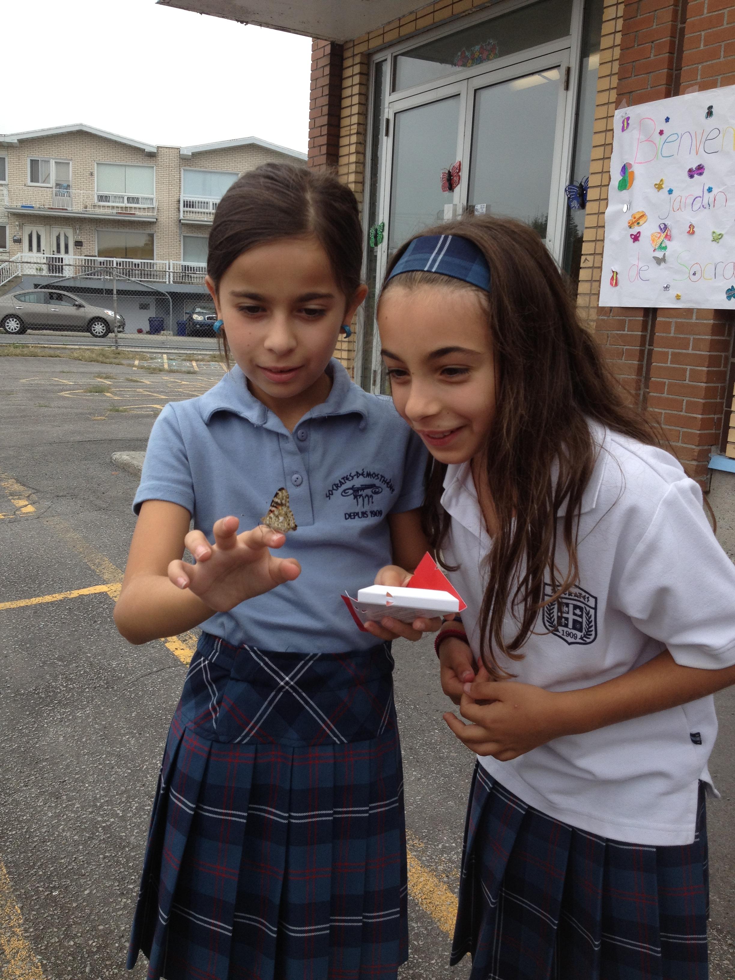 La rentrée scolaire 2013-2014 à l'école Socrates de Laval