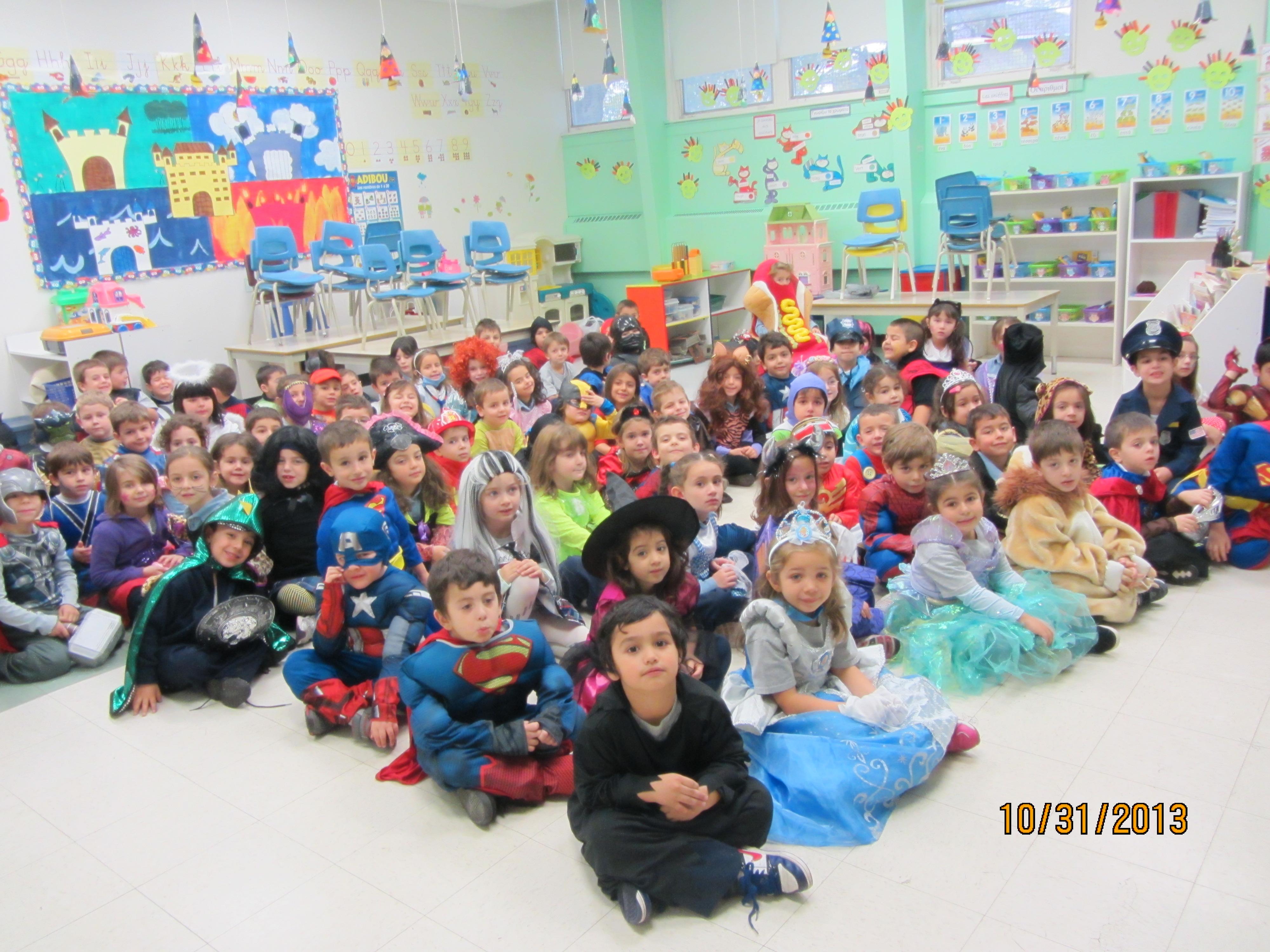 Les festivités de l'Halloween à l'école Socrates de Laval et l'Annexe