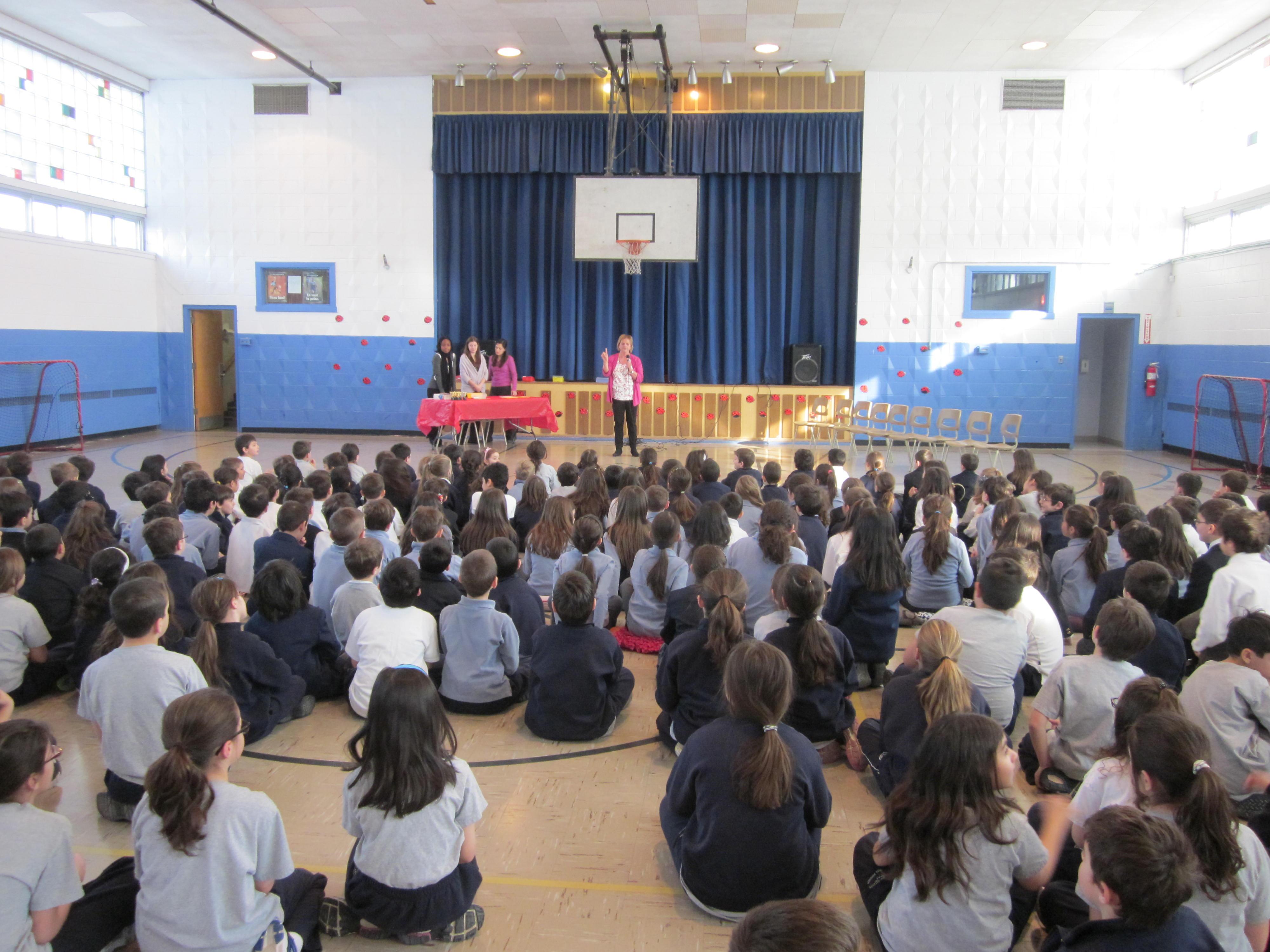 Concours coccinelle épelle à l'école Socrates de Laval