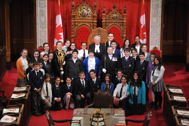 Les diplômés de Socrates II visitent Ottawa