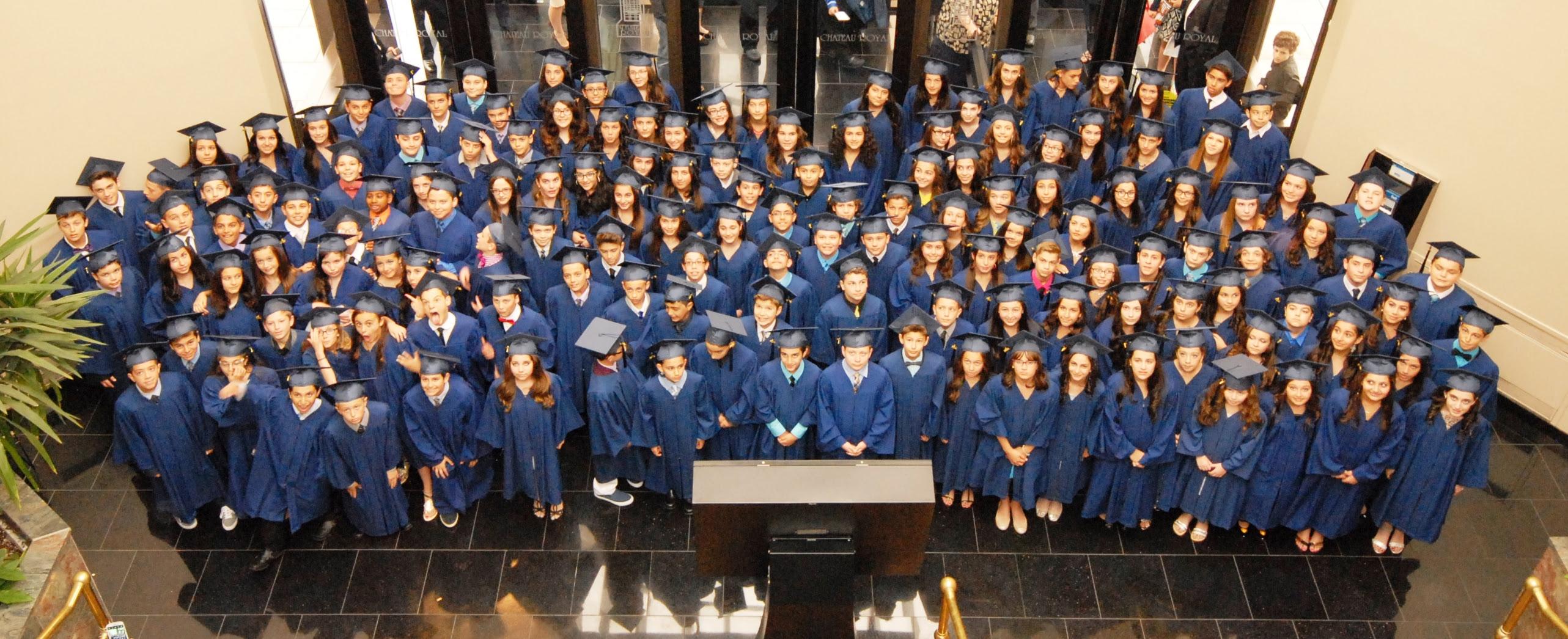 La cérémonie des diplômés