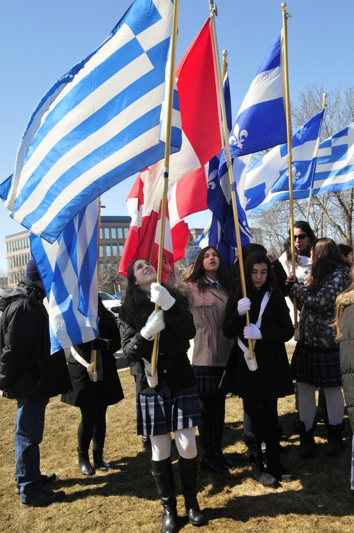 Socrates- Démosthène celebrates Greek Independence Day