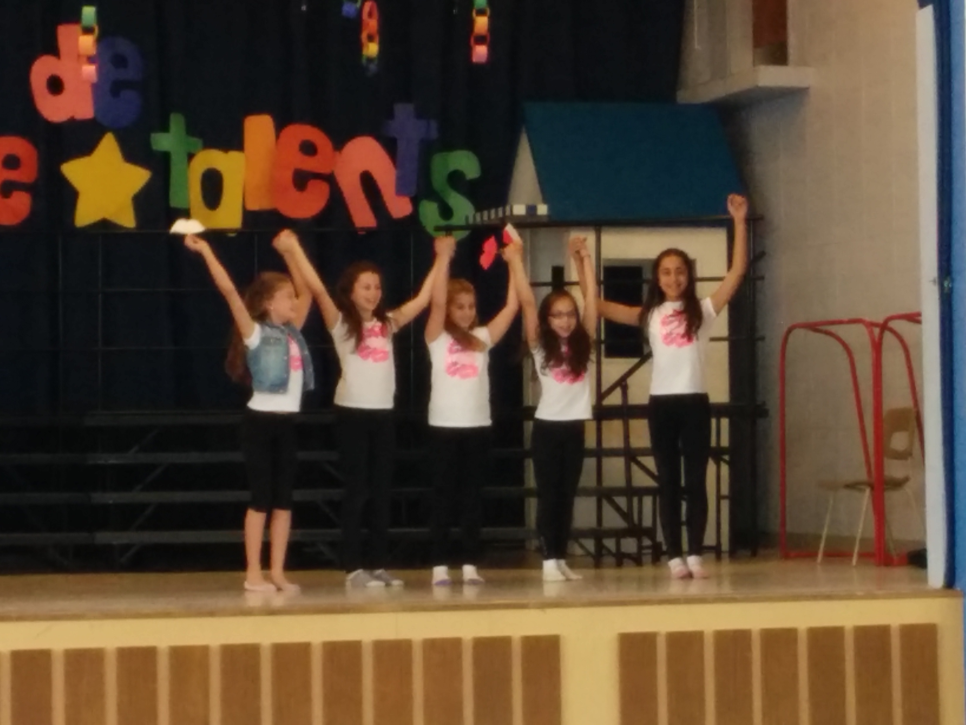 Socrates V students participate in a talent competition