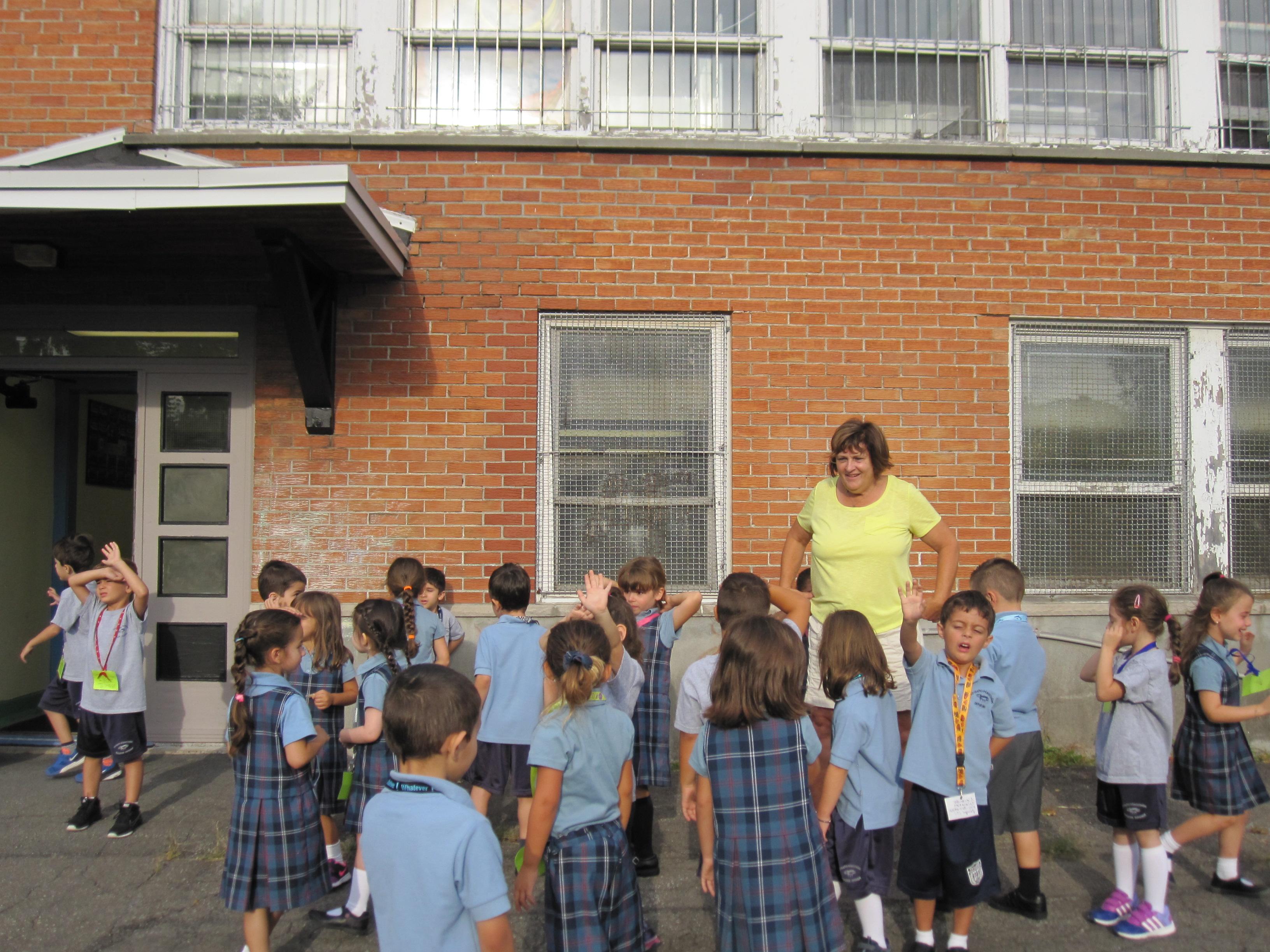 Des papillons à la maternelle de l'Annexe à Laval
