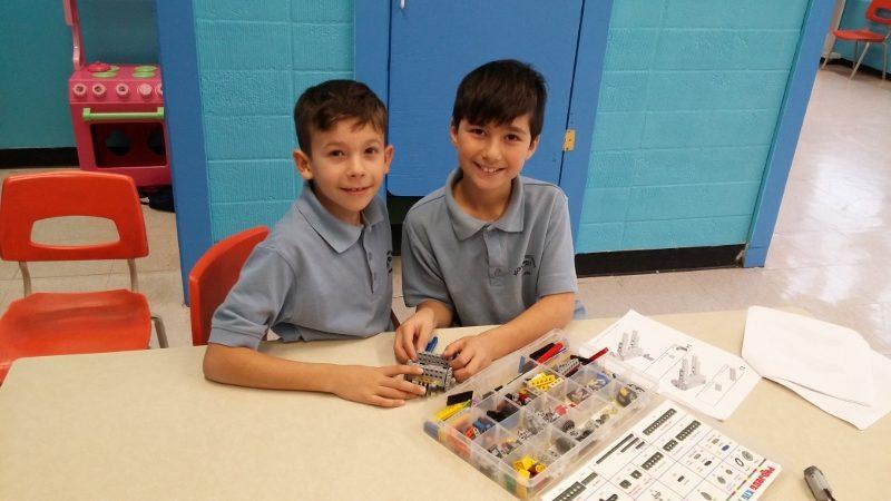 Eργαστήριο LEGO στο Δημοσθένη