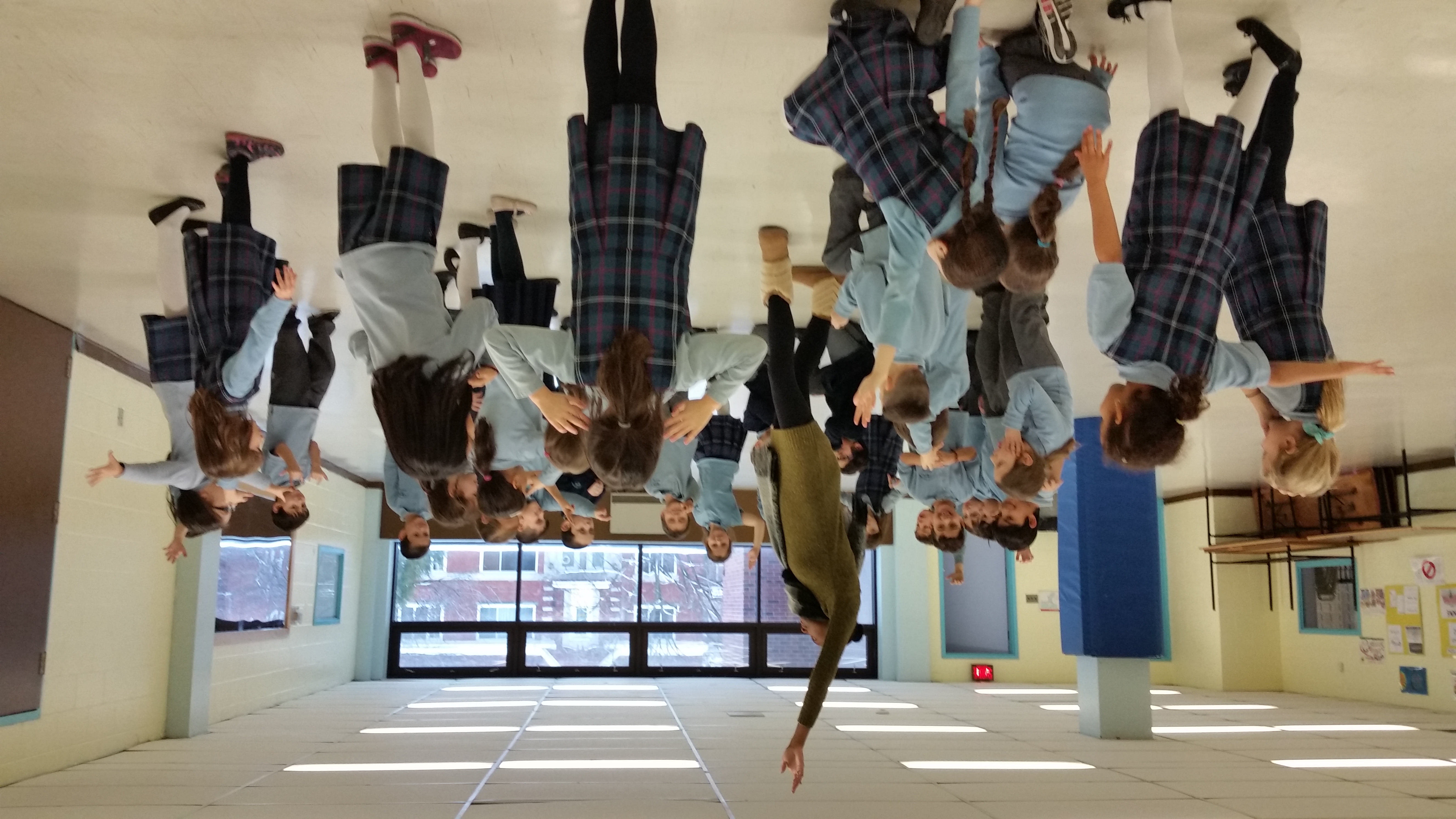 Φοιτητές Σωκράτης II κάνουν το Μανεκέν