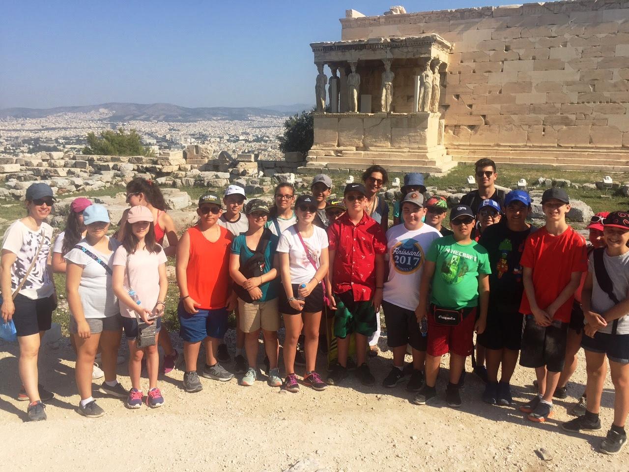 Nos élèves vivent la Grèce
