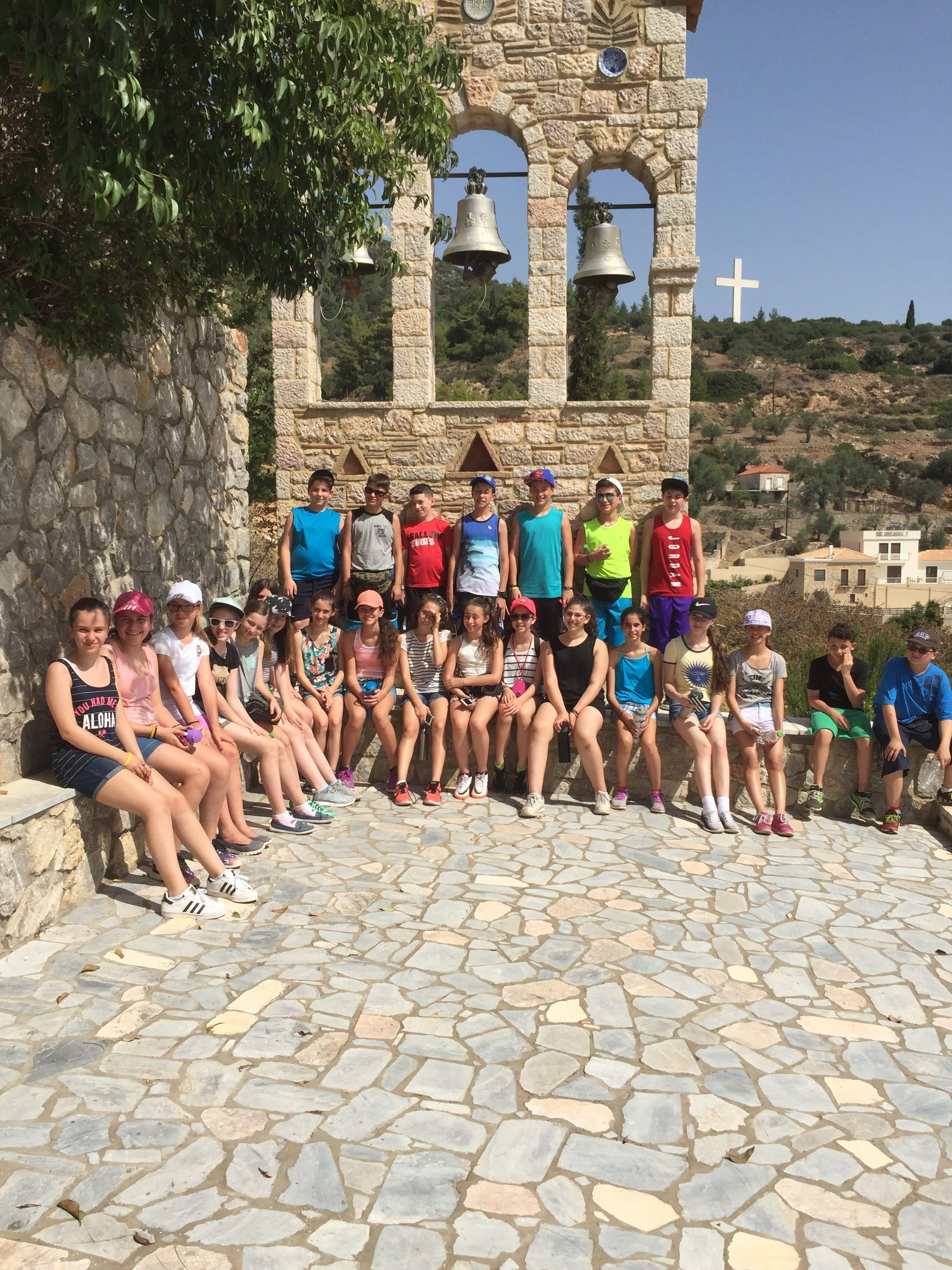 Voyage en Grèce 2018 pour les finissants. C'est un départ!