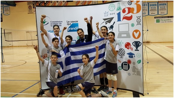 Demosthenes is the provincial champion in Volleyball!