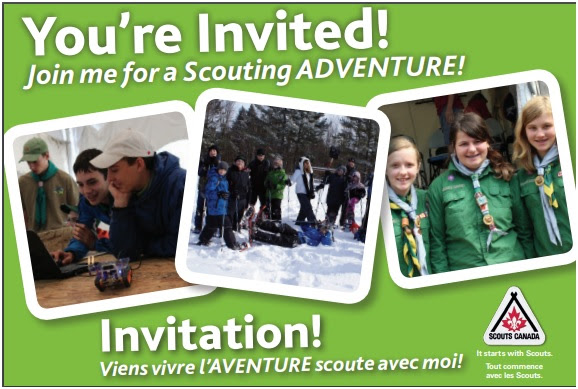 The Hellenic Scouts:  bring your friends!