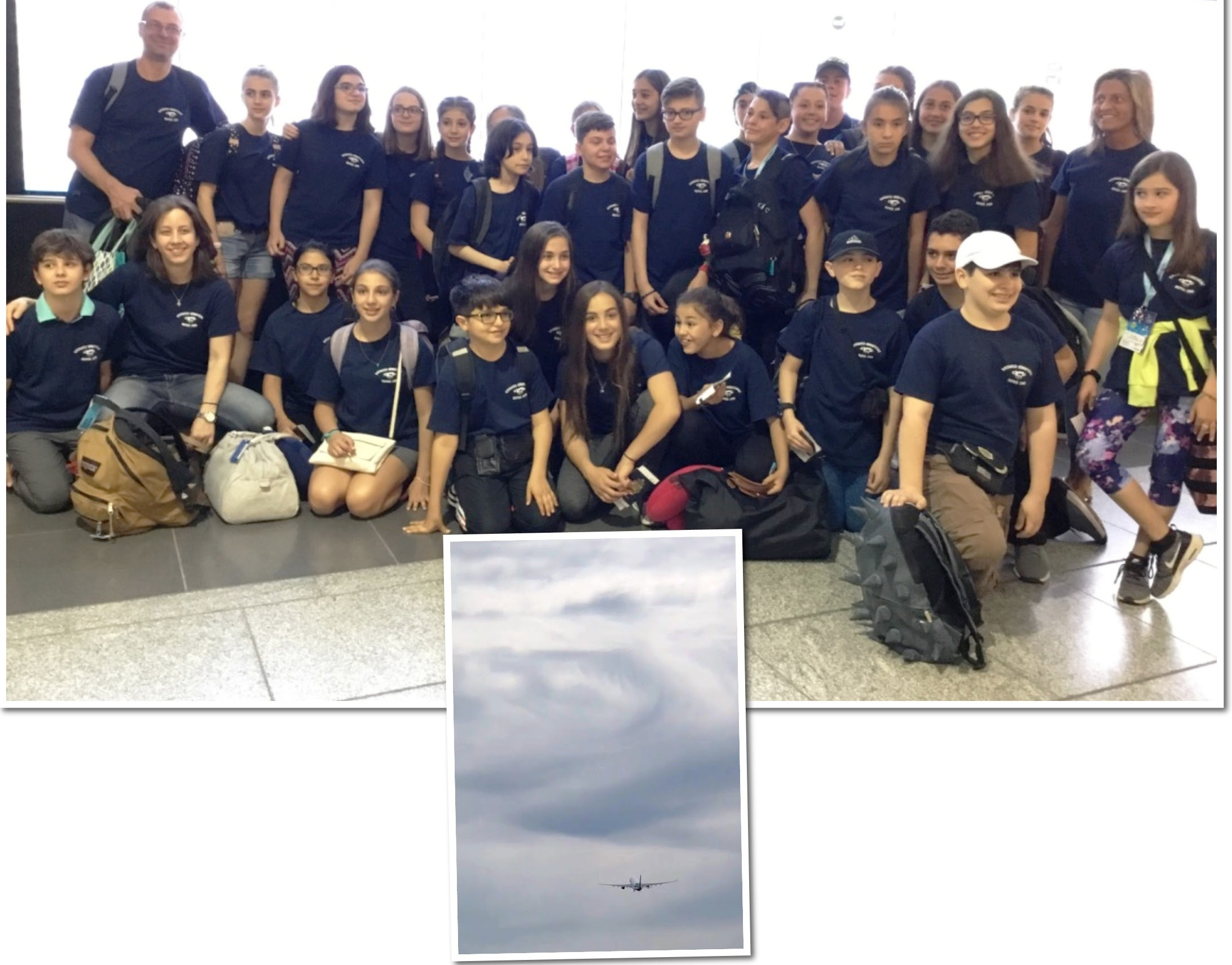TRAVEL IN GREECE 2018 Our students in the cradle of civilization