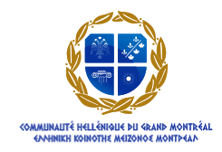 Hellenic Community of Greater Montreal Logo