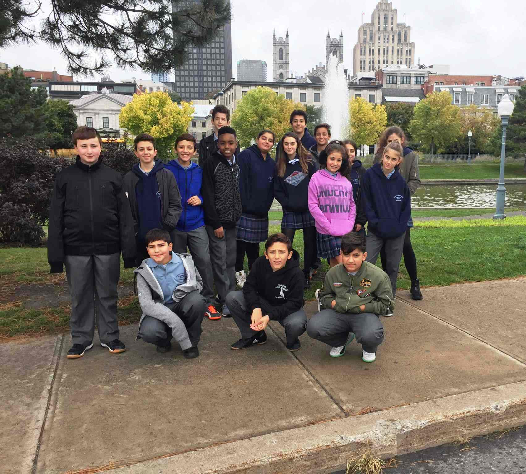 Our students discover ancient Egypt in Old Montreal