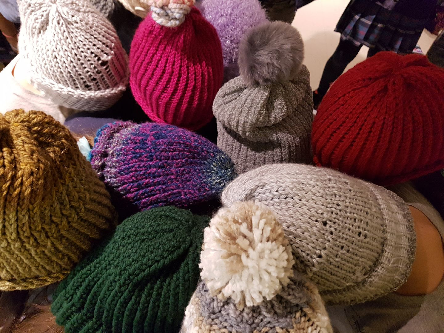 Toques to warm the heart