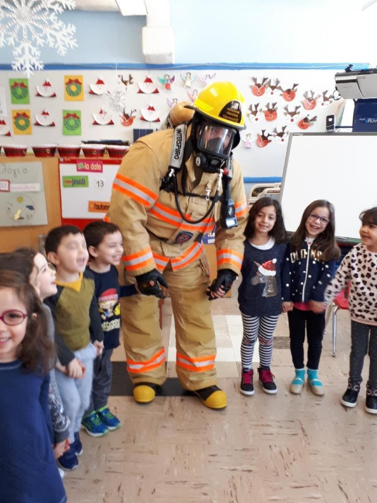 Exciting visit of firefighters to Socrates III