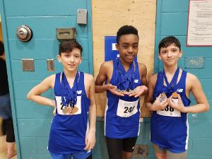 Athletics competition in Cowansville: 14 medals for Areus from the Socrates-Demosthène School
