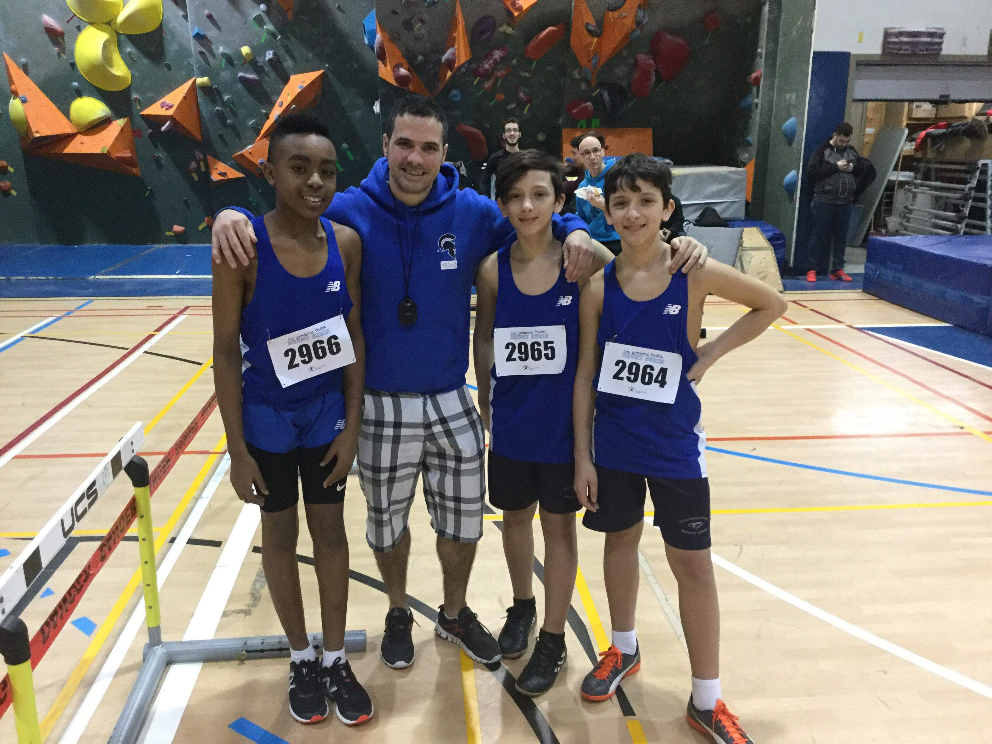 Athletics: The Club Areus of the Socrates-Démosthène School wins 5 podiums in a historic departure!