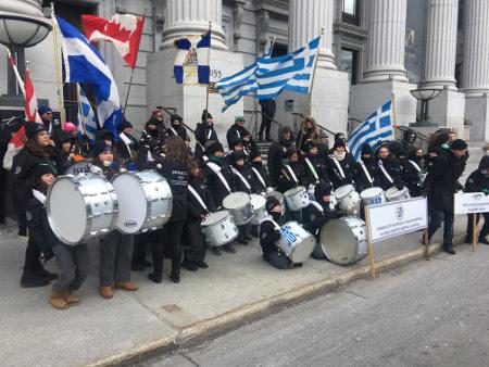 Το Σχολείο μας απονέμεται για άλλη μια φορά στην παρέλαση του Αγίου Πατρικίου