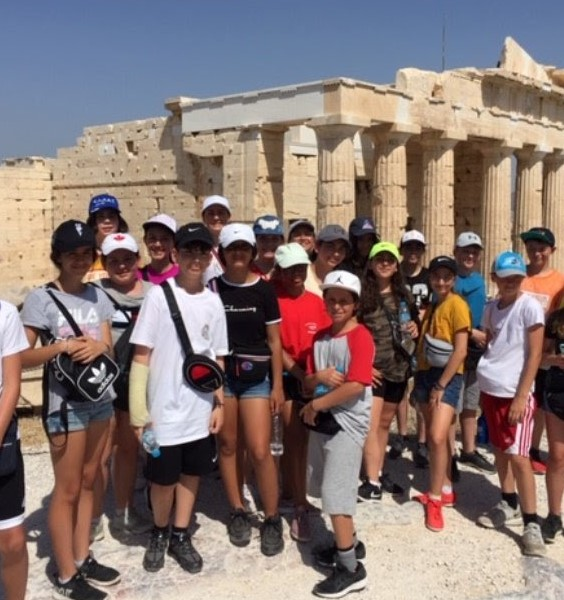 An amazing trip to Greece to mark the end of the Socrates-Demosthenes experience