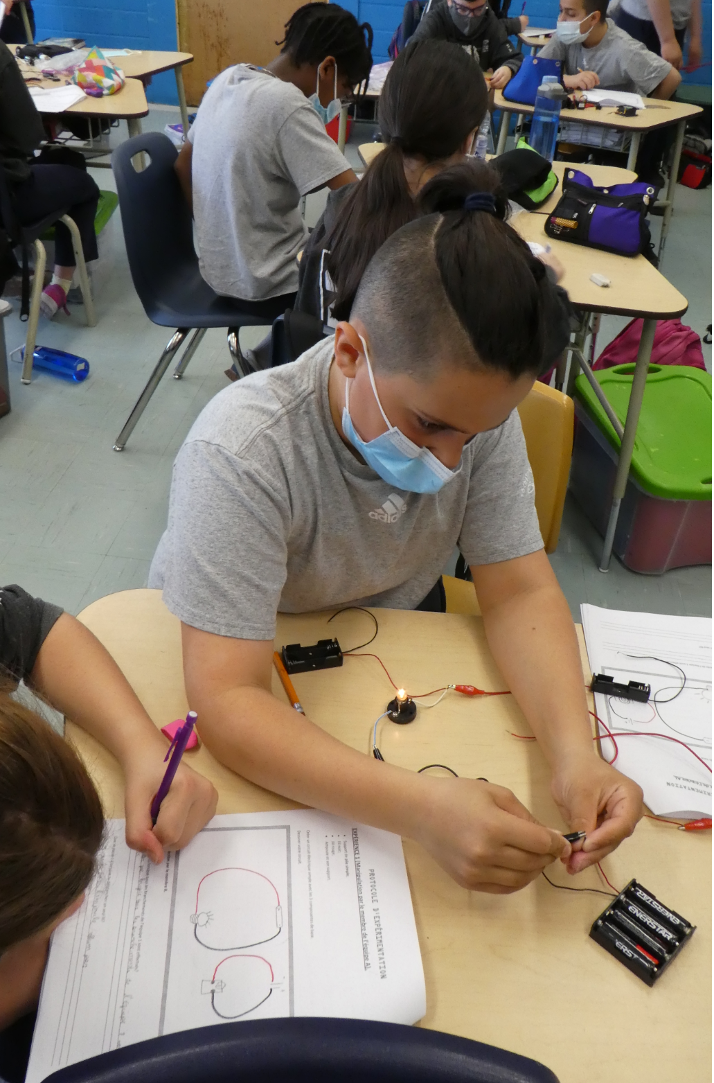 Learning is electrifying at Demosthenes! The Spartans are so trendy!